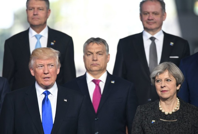 Trump Shoved The Prime Minister Of Montenegro Out Of His Way At NATO