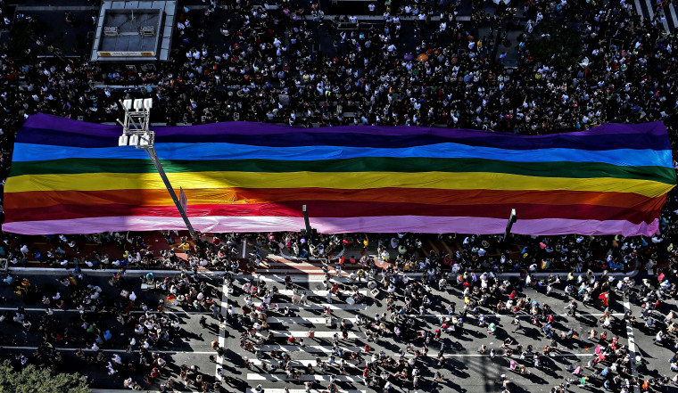 Brazil Holds World's Largest Pride Parade