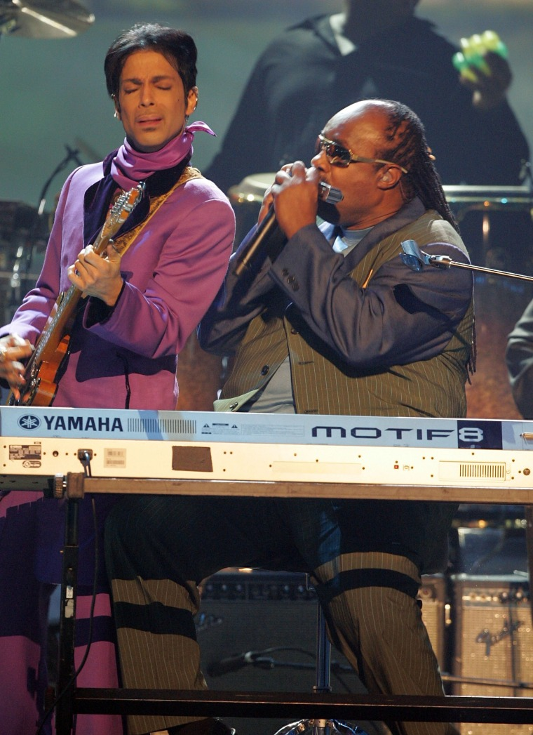 Stevie Wonder Shares Touching Prince Tribute