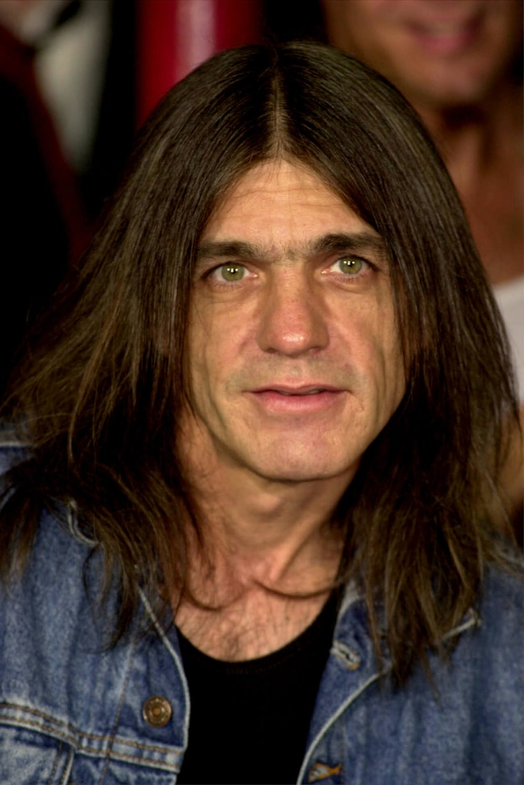 Malcolm Young, co-founder of AC/DC, has died