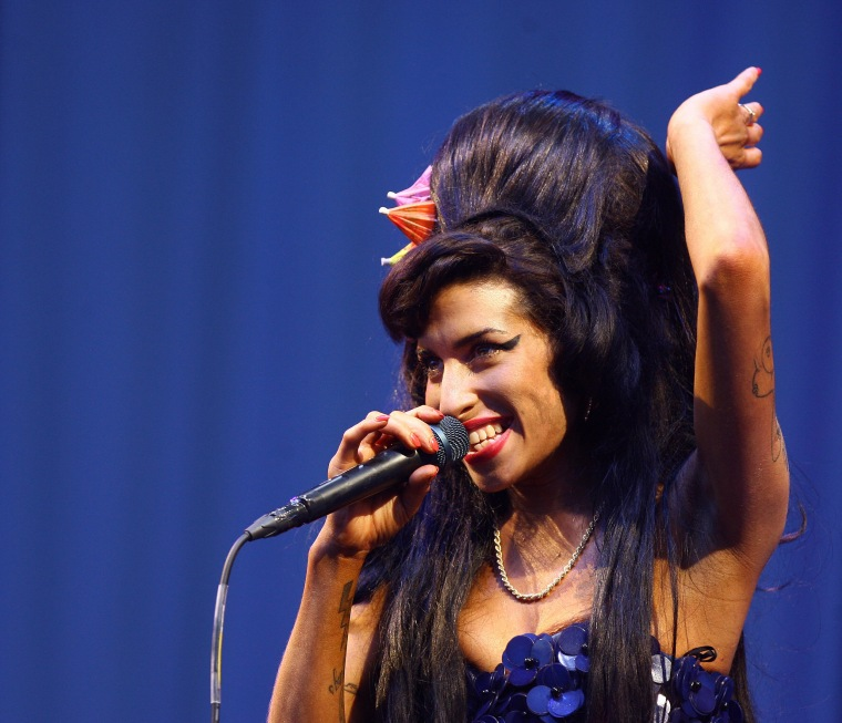 Someone Destroyed An Album's Worth Of Amy Winehouse Demos