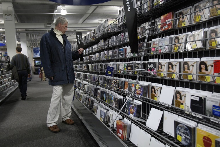 Best Buy to Stop Selling CDs, Target May Follow