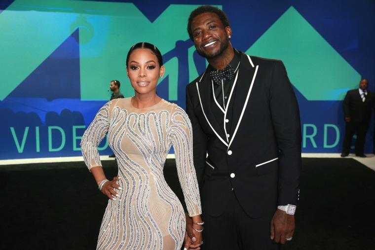 Gucci Mane And Keyshia Ka'oir Were Living Their Best Lives At The VMAs