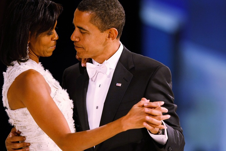 Michelle Obama made a Valentine's Day playlist for Barack Obama on Spotify