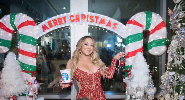 """All I Want for Christmas"" is in Billboard's top 10 for the first time"