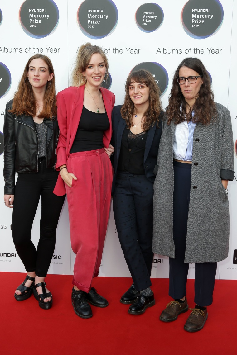 Here Are All The Sharpest Looks From London's Mercury Prize Red Carpet