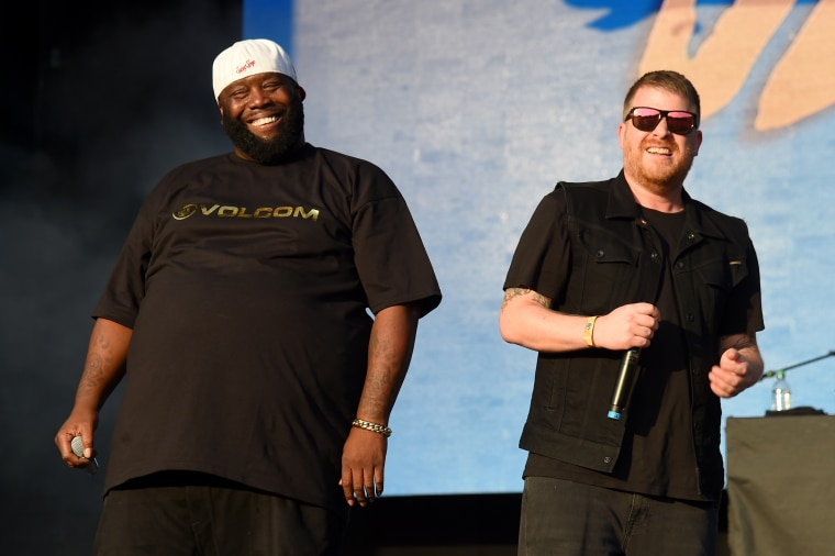 Run the Jewels went on Hannibal Buress's podcast