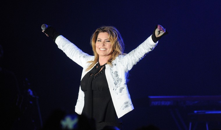 Shania Twain's <i>Now</i> debuts at number one on the Billboard 200