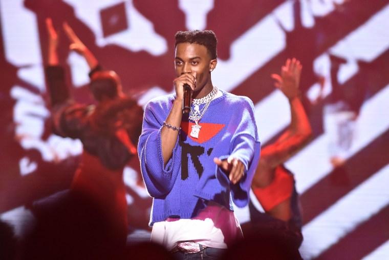 Watch Playboi Carti perform during the BET Hip Hop Awards