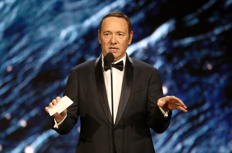 Kevin Spacey issues apology following accusation of sexual advance on 14-year-old