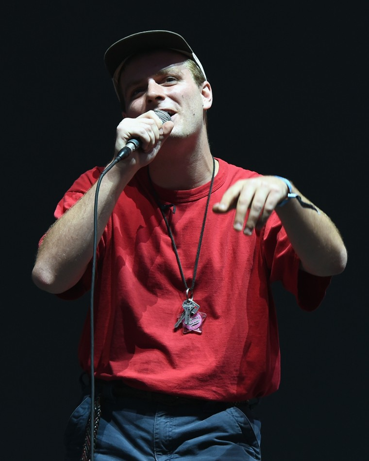 Mac DeMarco was the surprise guest at Camp Flog Gnaw on Saturday