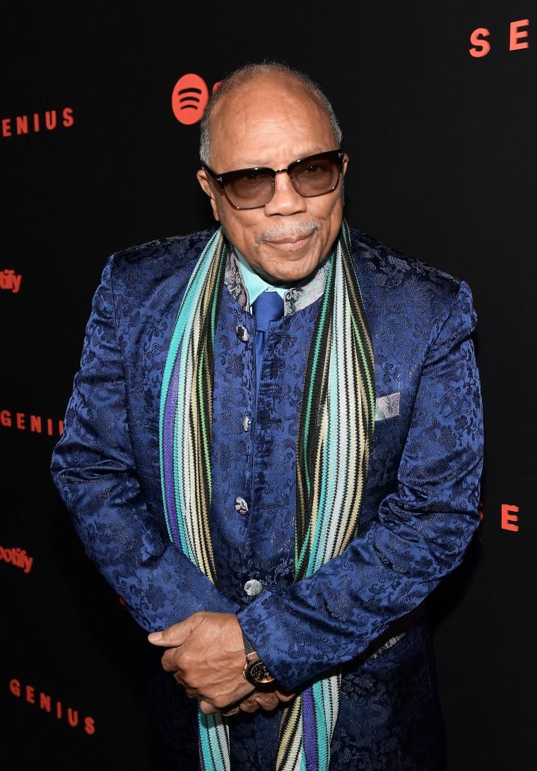 "Quincy Jones on Michael Jackson: ""He stole a lot of songs"""