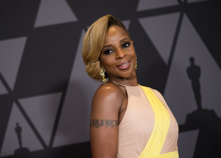 Mary J. Blige got two Oscar nominations for <I>Mudbound</i>