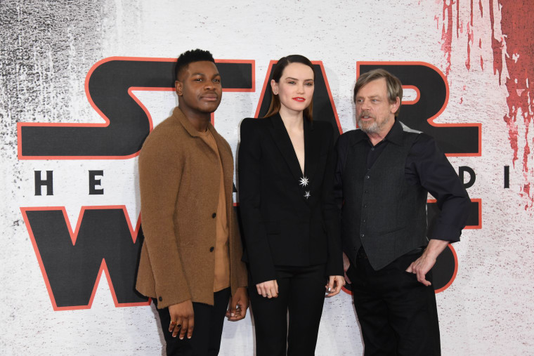 The cast of <I>Star Wars</i> are mocking a sexist fan who edited the film to remove women