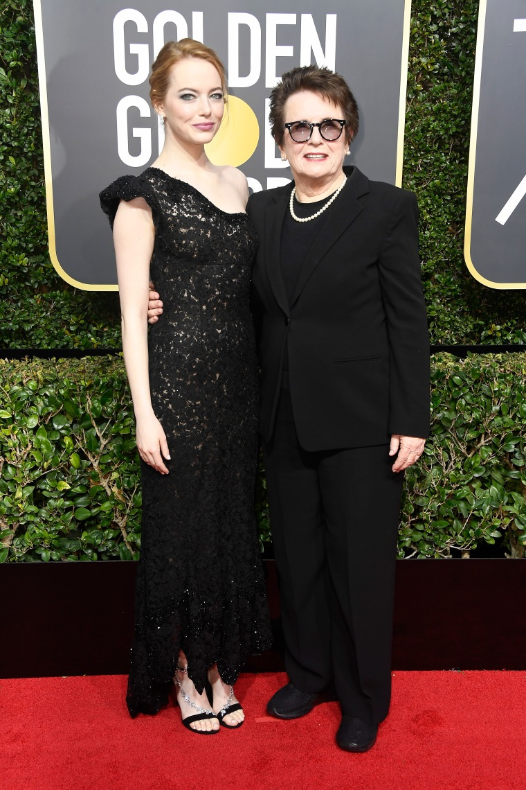 Meryl Streep, Laura Dern, Emma Stone and more brought activists as their Golden Globes dates