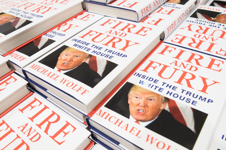 Infamous Trump book <I>Fire And Fury</i> to be turned into TV series