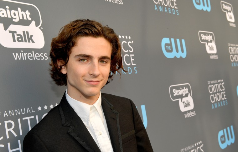 Timothée Chalamet donates his fee from Woody Allen movie to Time's Up