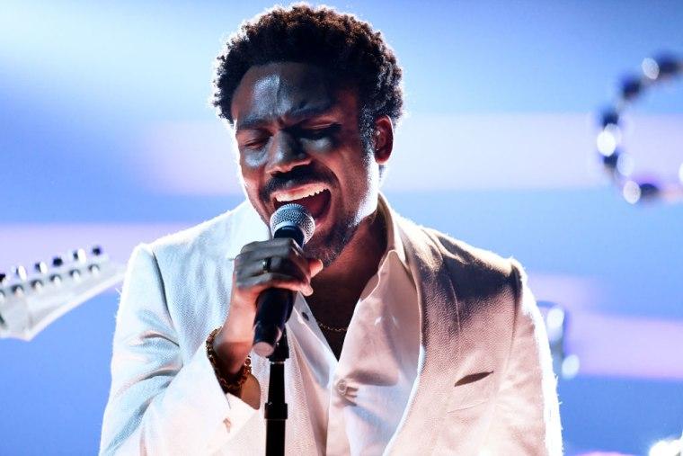 Watch Childish Gambino perform at the 2018 Grammys