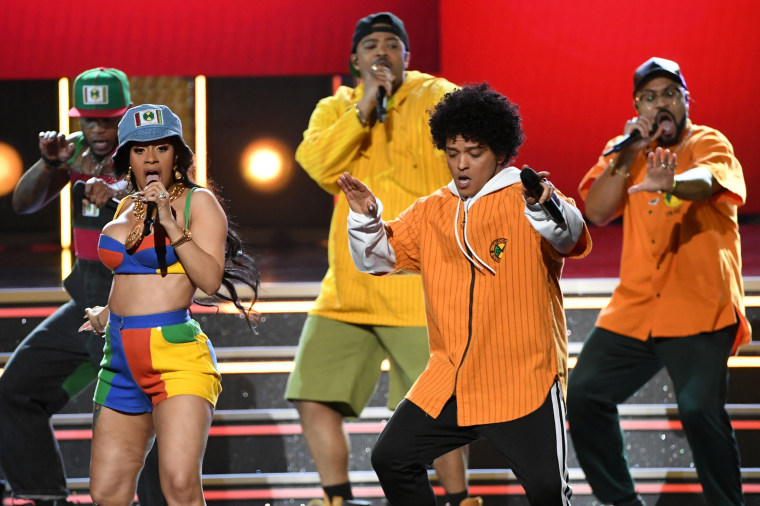 Bruno Mars Announces New '24K Magic' Tour Dates with Cardi B