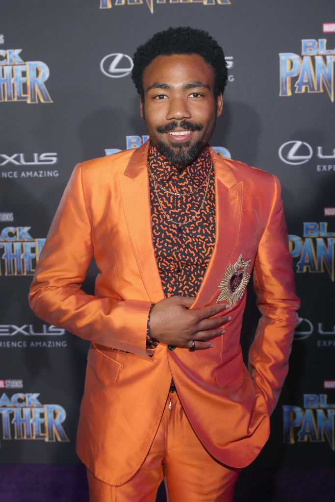 Donald Glover contributed to a draft of <i>Black Panther</i>'s script