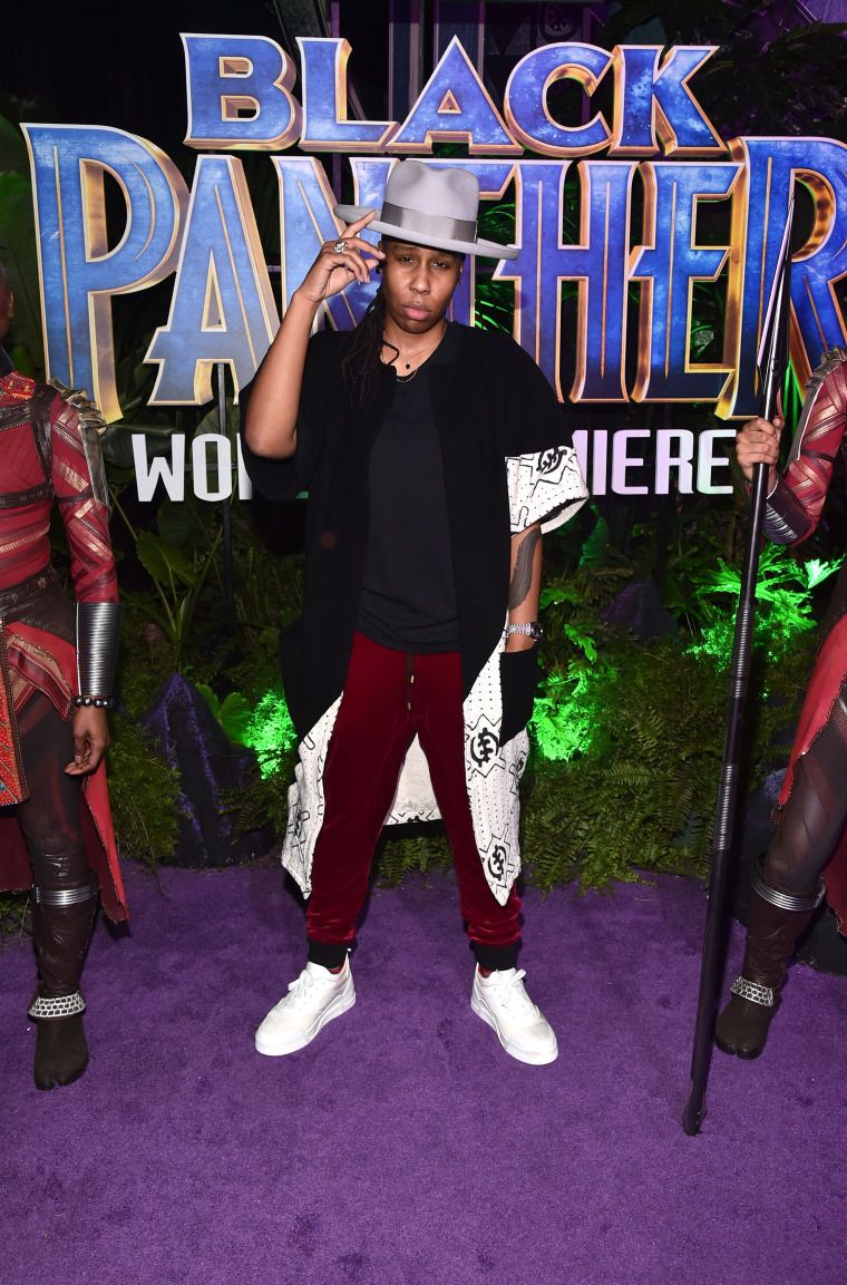 Everyone looked amazing at the <i>Black Panther</i> premiere