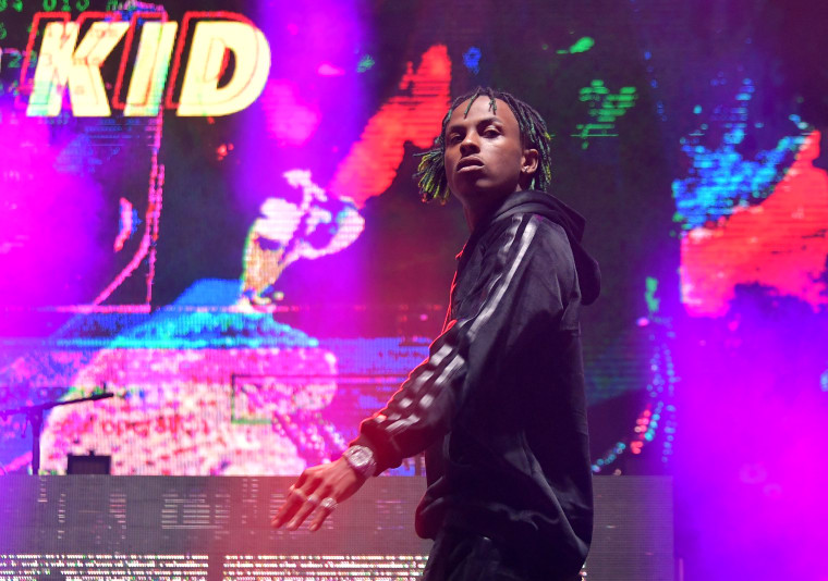 Rich The Kid's NBA All Star performance interrupted by man with gun