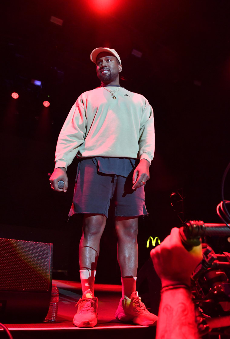 """Kanye West on beef between Pusha T and Drake: """"this is dead now"""""""