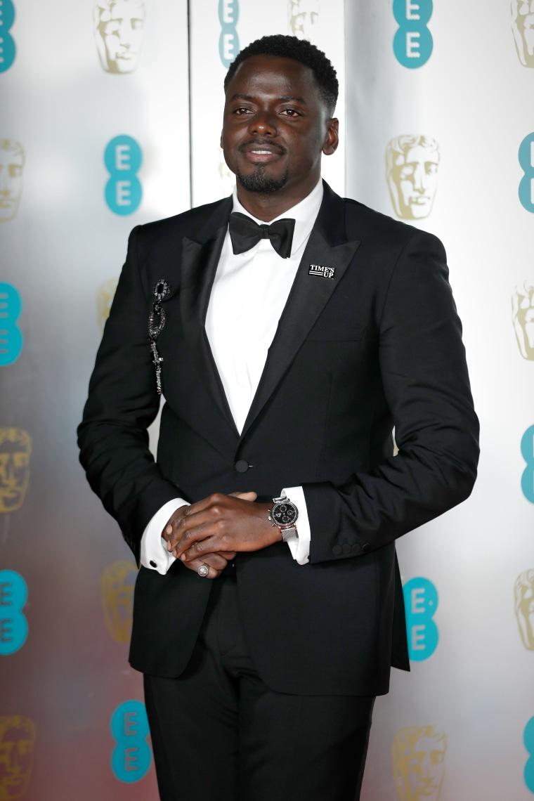 Daniel Kaluuya received the Rising Star award at the BAFTAs
