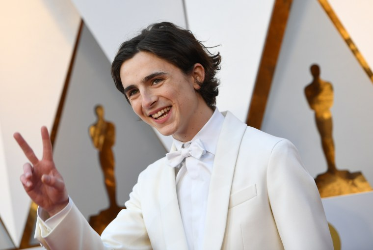 FYI, Timothée Chalamet is an actual angel