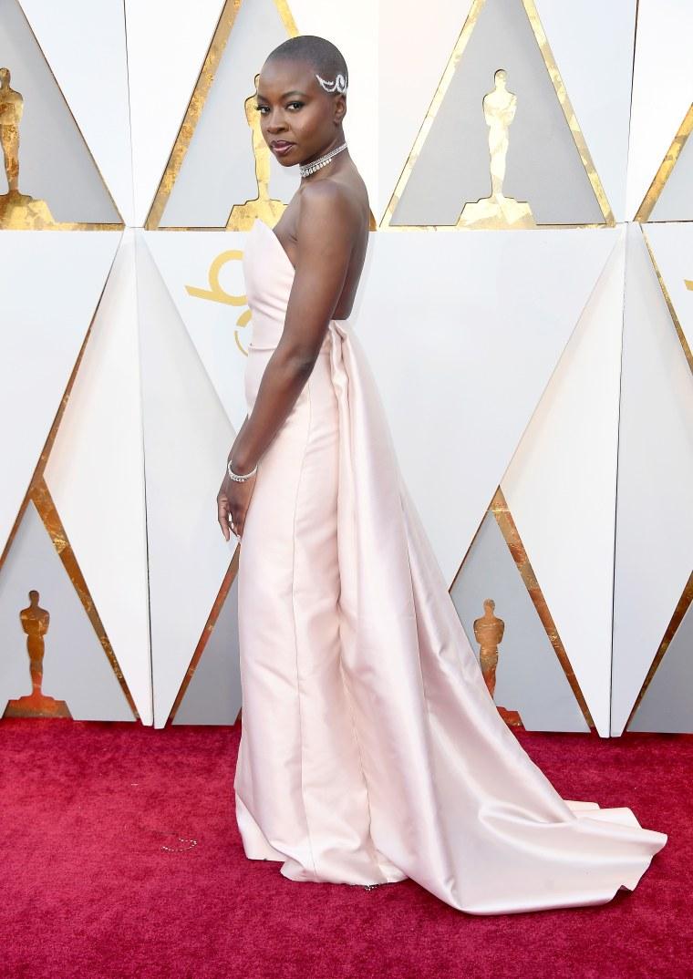 Lupita Nyong'o and Danai Gurira were absolutely enchanting at the Oscars