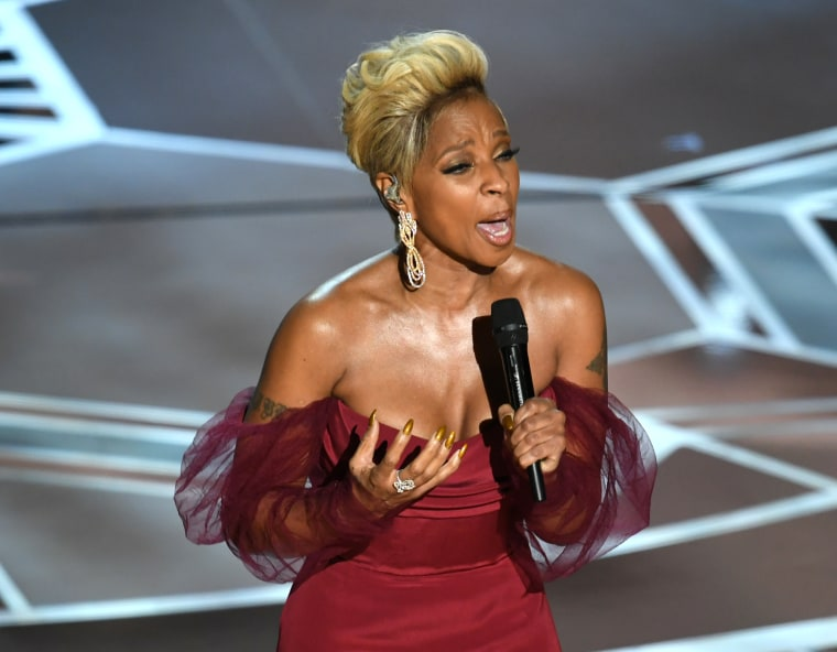 "Mary J. Blige ""Mighty River"" streams increased over 300 per cent after the Oscars"