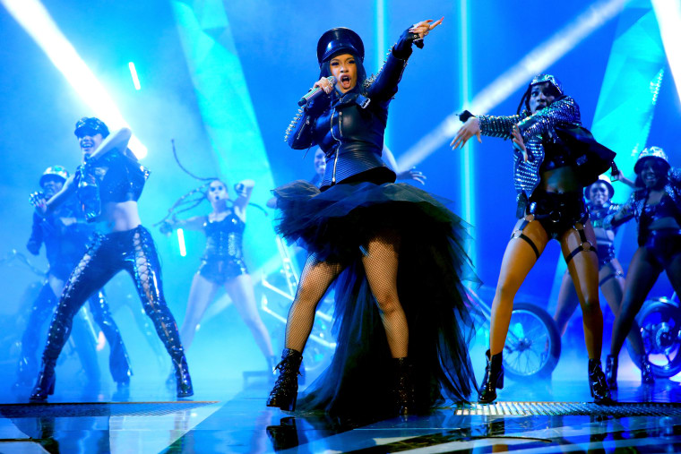 Watch Cardi B open the iHeart Radio Music Awards