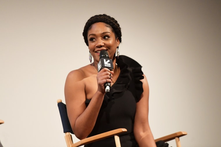 Tiffany Haddish Hilariously Role-Plays Epic Fantasy Date With Brad Pitt
