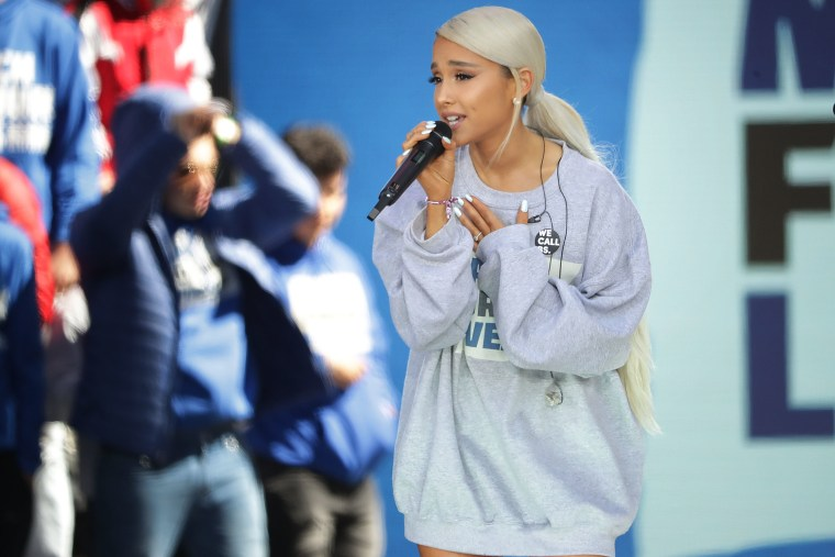 Ariana Grande pays tribute one year on from Manchester Arena attack