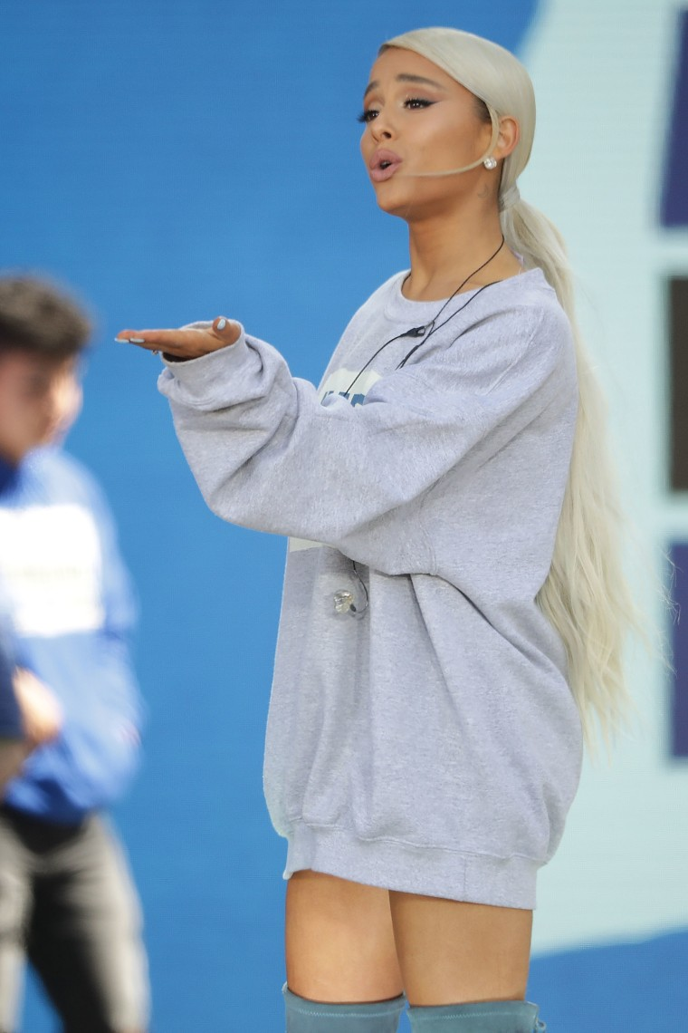 Ariana Grande reportedly has a new single out this Friday