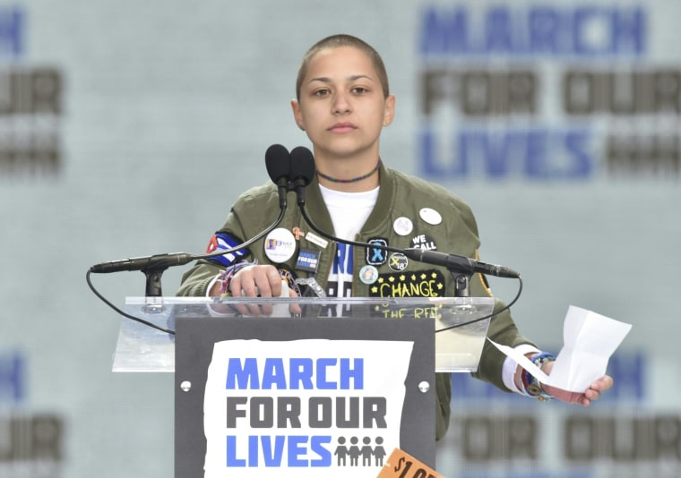 Watch Emma González's heart-wrenching 'March For Our Lives' speech