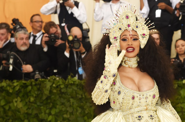 On the Met Gala red carpet, it was team angels versus team goth girls