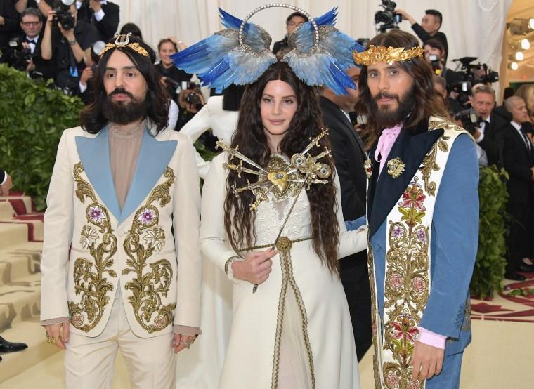 On the Met Gala red carpet, it was team angels versus team goth girls
