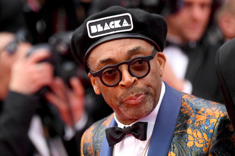 Spike Lee gave an impassioned speech at the <i>BlacKkKlansman</i> Cannes premiere