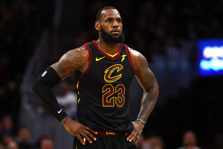 National Basketball Association players come to defense of LeBron James