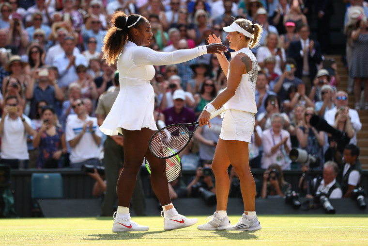 Serena Williams lost in the Wimbledon finals