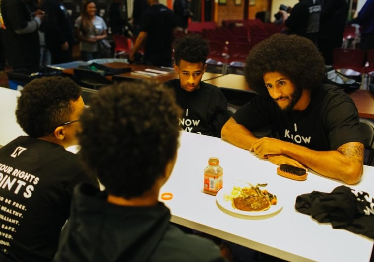 Colin Kaepernick Started A Black Panthers-Inspired Camp For Kids