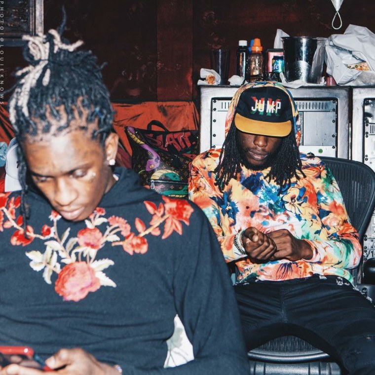 """Listen to """"Side Steppin',"""" a new song by T-Shyne and Young Thug"""