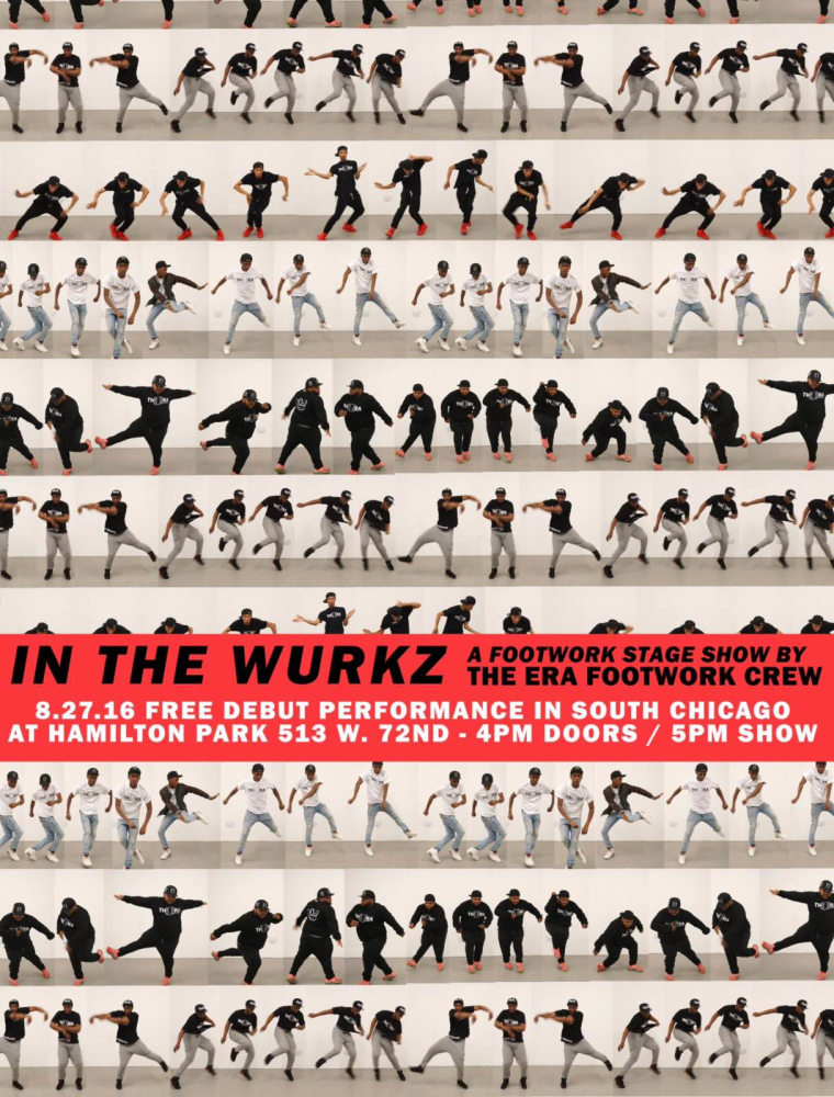 Chicago Footwork Crew The Era Announces Debut Stage Show, <i>IN THE WURKZ</i>