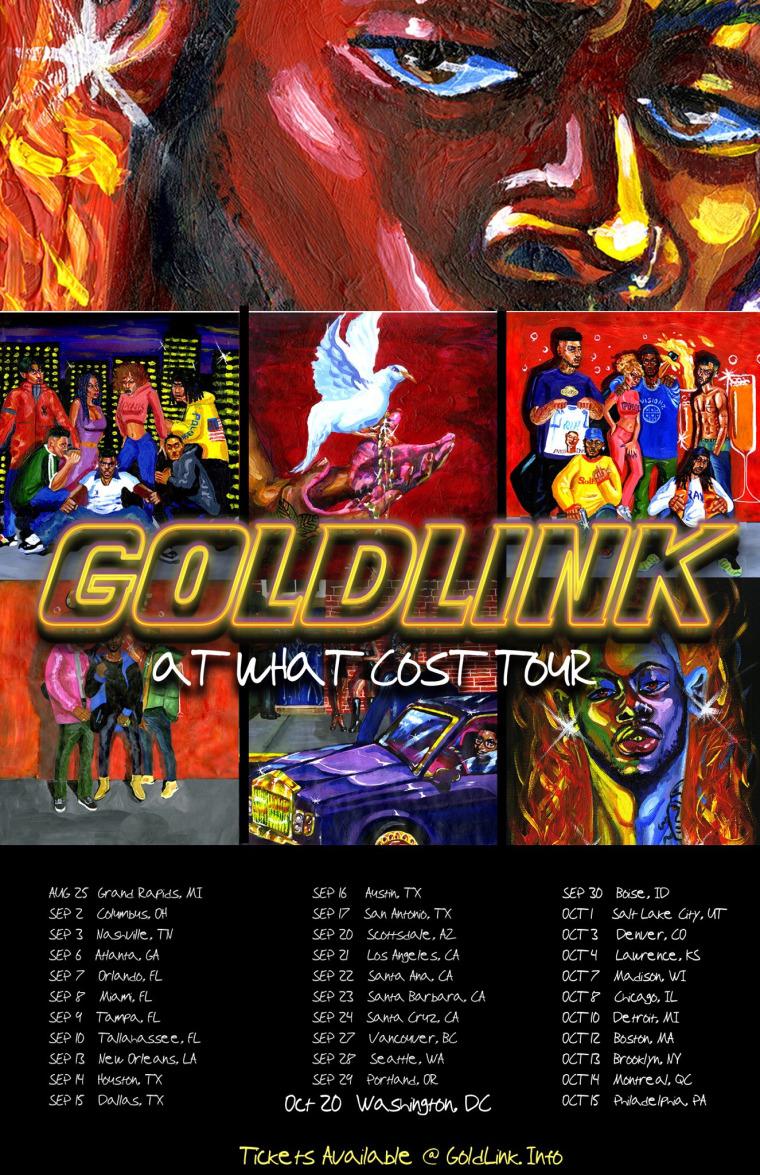 "GoldLink Shares ""Crew"" Remix With Gucci Mane"