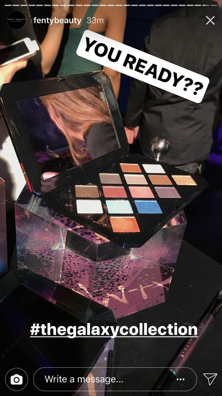 Rihanna Reveals The Fenty Beauty Holiday Collection