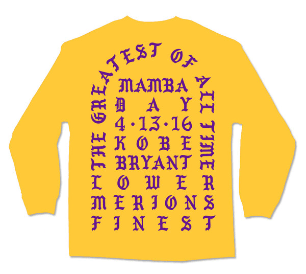 "Buy Kanye West's ""I Feel Like Kobe"" Shirt Now"