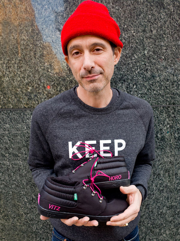 Beastie Boys's Ad-Rock Is Donating The Proceeds From His New Shoe Collaboration To Planned Parenthood