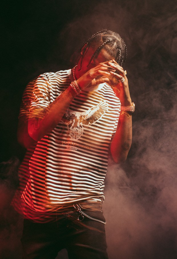 Travis Scott collaborates with Australian streetwear brand Ksubi