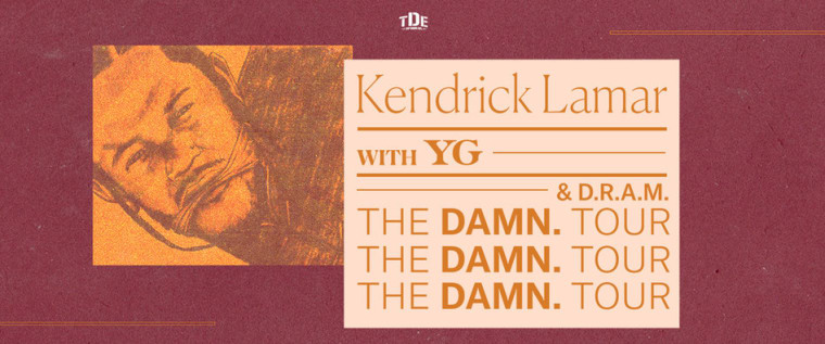 Kendrick Lamar Just Added New Dates To The <i>DAMN.</i> Tour